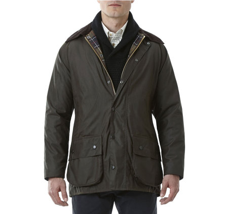 Barbour Classic Beaufort Waxed Jacket Melbourne Gun
