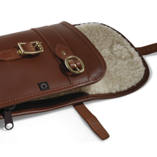 Croots Byland Leather Shotgun Slip With Carry Handles