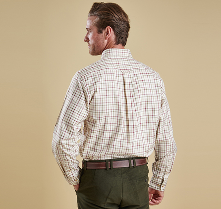 Barbour Tattersall Shirts Melbourne Gun