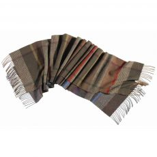 barbour country plaid scarf 2