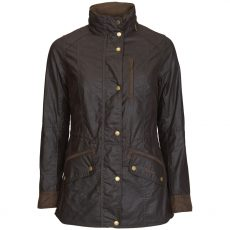 barbour badminton wax jacket