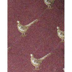 bisley pheasant burgundy